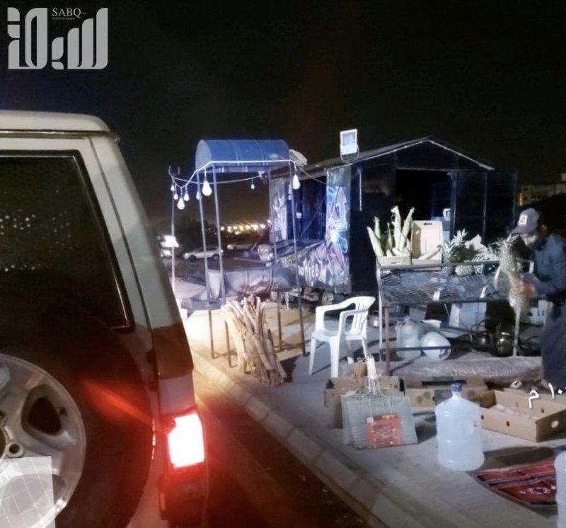 شاهد.. حملة ليلية تصادر دبابات مزعجة وتزيل ما يشوه متنزهات الطائف