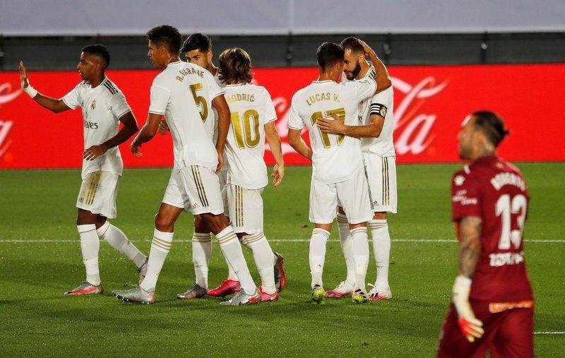 ريال مدريد يفوز على