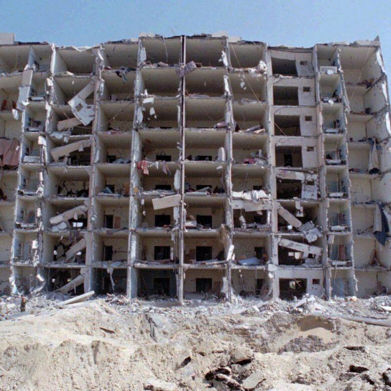 بالصور .. الإرهاب الإيراني: حادثة أبراج الخُبر الإرهابية.. التفجير غير النووي الأكبر