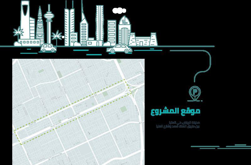 أمانة الرياض تطرح مشروع إنشاء وإدارة 6.700 موقف سيارات بالعليا