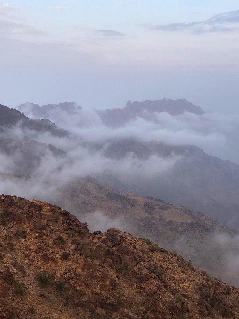 شاهد سحر جبال