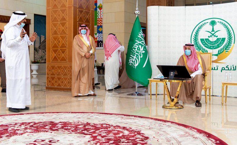 أمير الباحة يُدشن الموقع الإلكتروني لـ