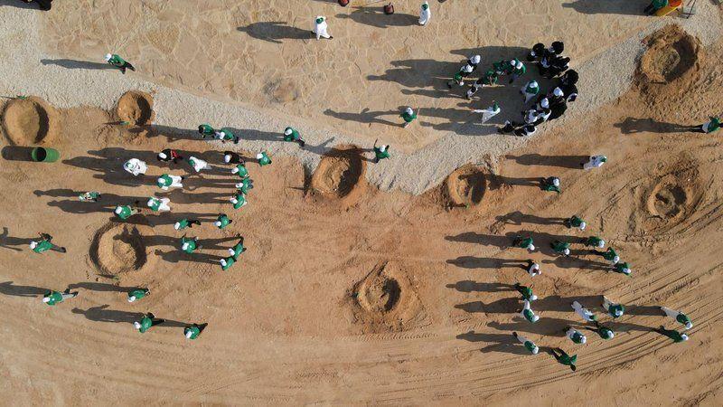 الرياض.. أكثر من ٥٠٠ متطوع يشاركون في فعالية