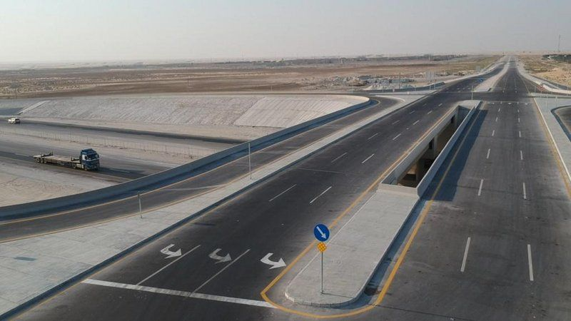 بالصور.. افتتاح تقاطع إصلاحية الدمام أمام حركة المرور
