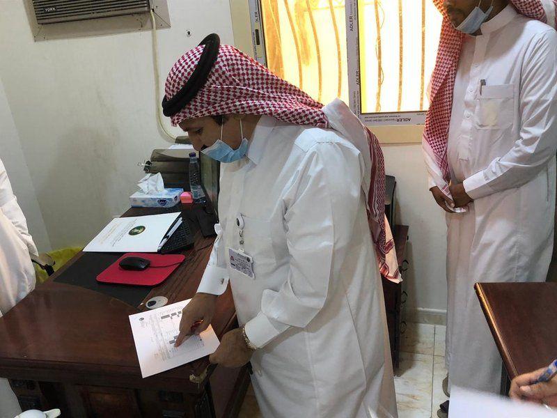 مدير عام بيئة مكة يتفقد مكتب الوزارة بمحافظة الكامل