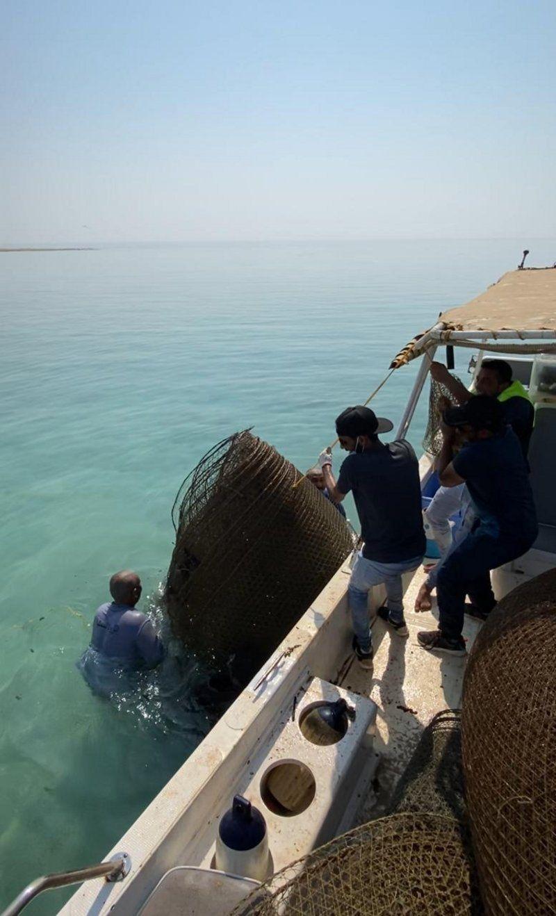 شاهد.. ضبط ٤٠ قرقور صيد بحري مخالفاً في القنفذة