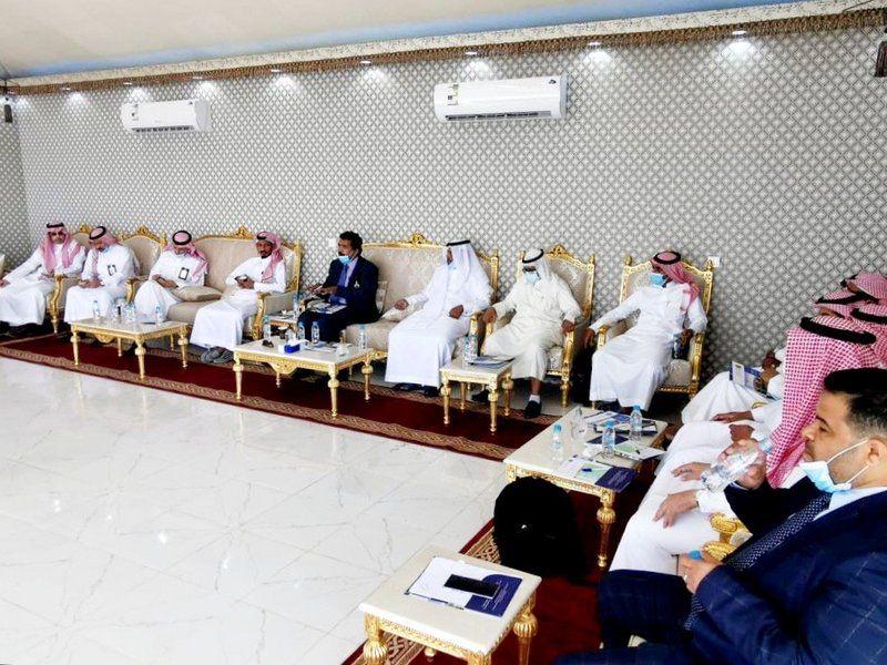 باحثون ومختصّون بالجامعات السعودية يزورون مشروع الوحدة البحثية لمياه البحر بجدة