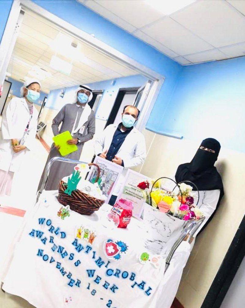 مستشفى صامطة يطلق فعاليات الأسبوع العالمي للتوعية عن المضادات الحيوية 2020م