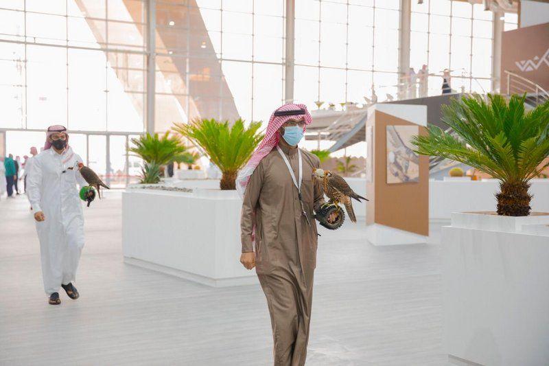 وسط إجراءات احترازية.. انطلاق النسخة الثالثة لمهرجان الملك عبدالعزيز للصقور
