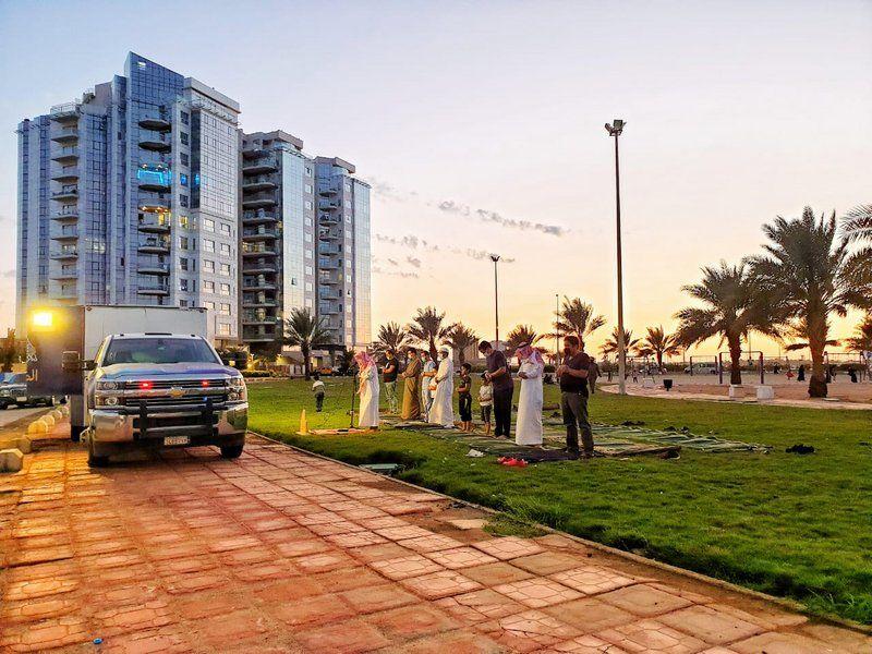 هيئة جدة تُفعل المصلى المتنقل على الشواطئ والمتنزهات