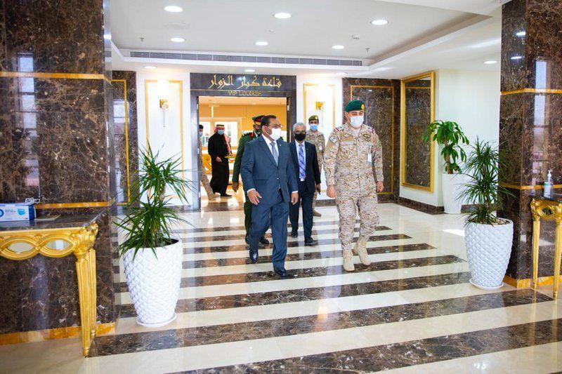 التحالف الإسلامي العسكري لمحاربة الإرهاب يستقبل ممثلي جمهورية المالديف