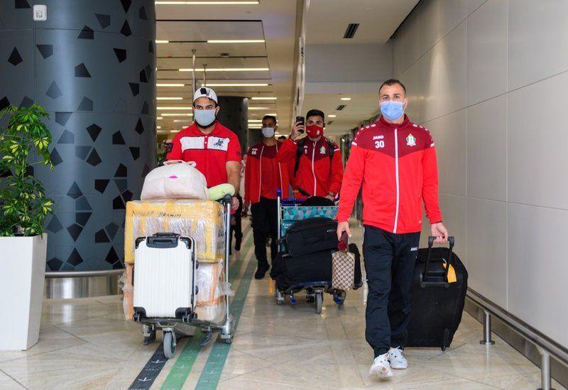 يشارك في المجموعة الرابعة من دوري الأبطال.. الوحدات الأردني يصل الرياض
