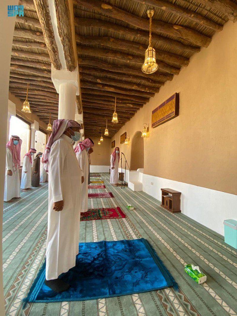 ضمن برنامج ولي العهد لتطوير المساجد التاريخية.. مسجد