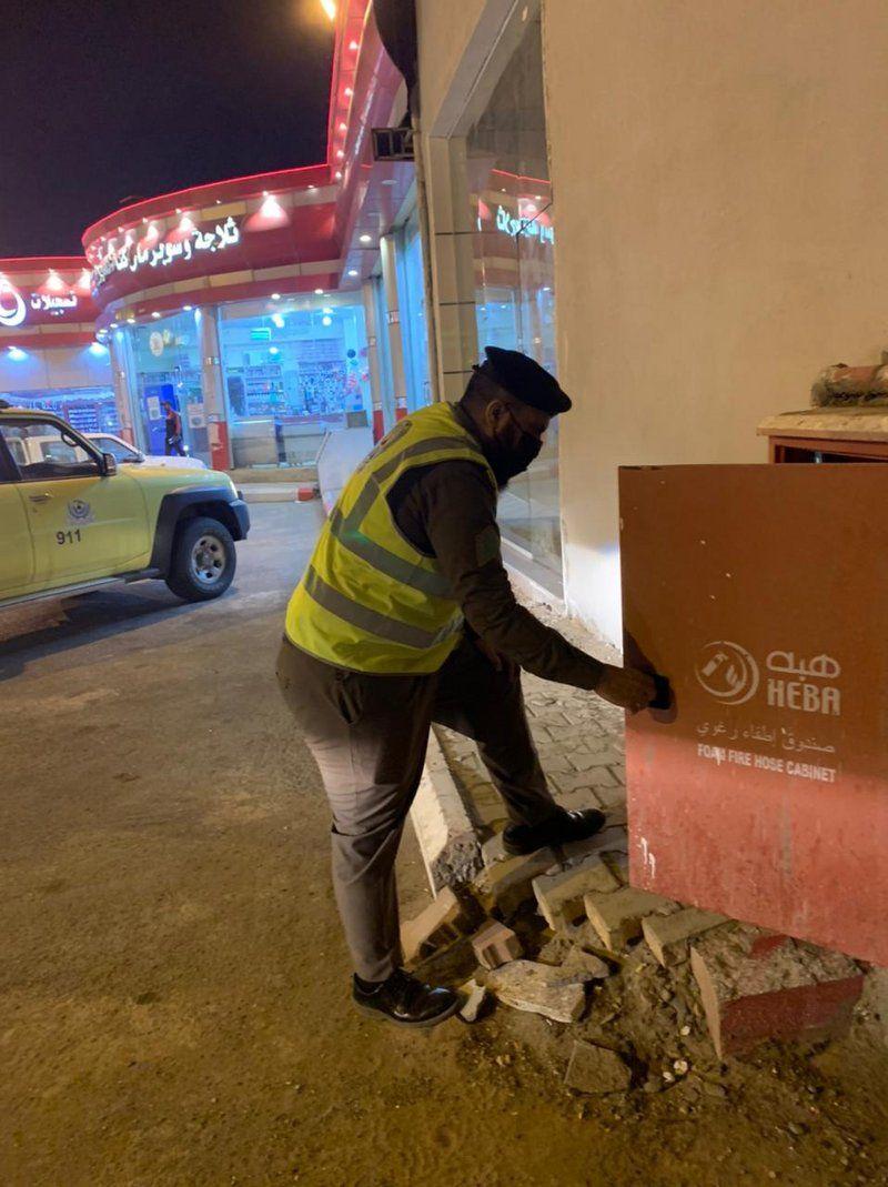 مدني تربة يكثف جولاته وتحذيراته من اقتناء الألعاب النارية