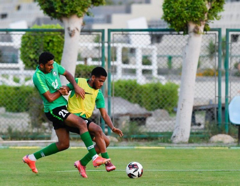المنتخب السعودي يعاود تدريباته تحضيراً لمواجهة اليمن في كأس العرب