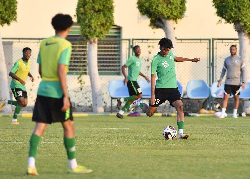 الأخضر الشاب أكمل جاهزيته لمواجهة اليمن .. في بطولة كأس العرب