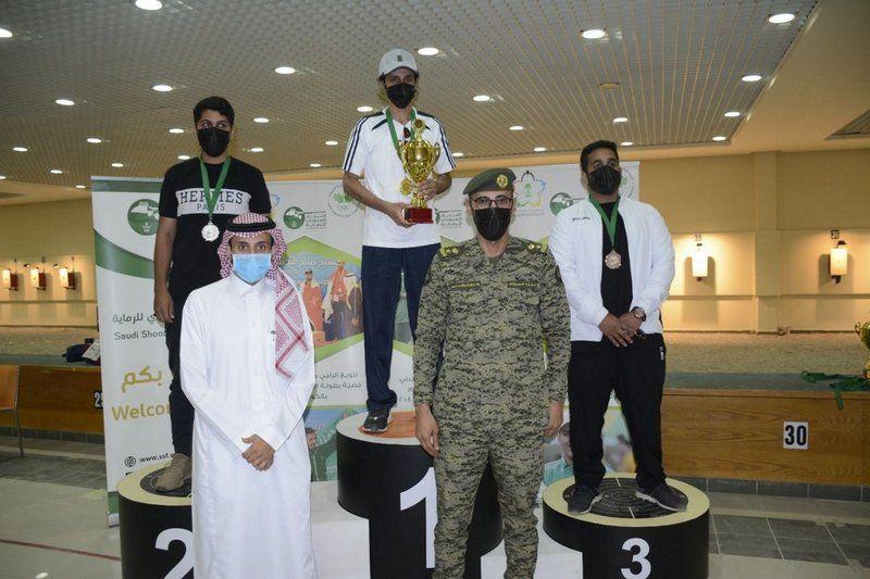 أقيمت البطولة على ميادين الرماية.. تتويج الفائزين في بطولة النخبة