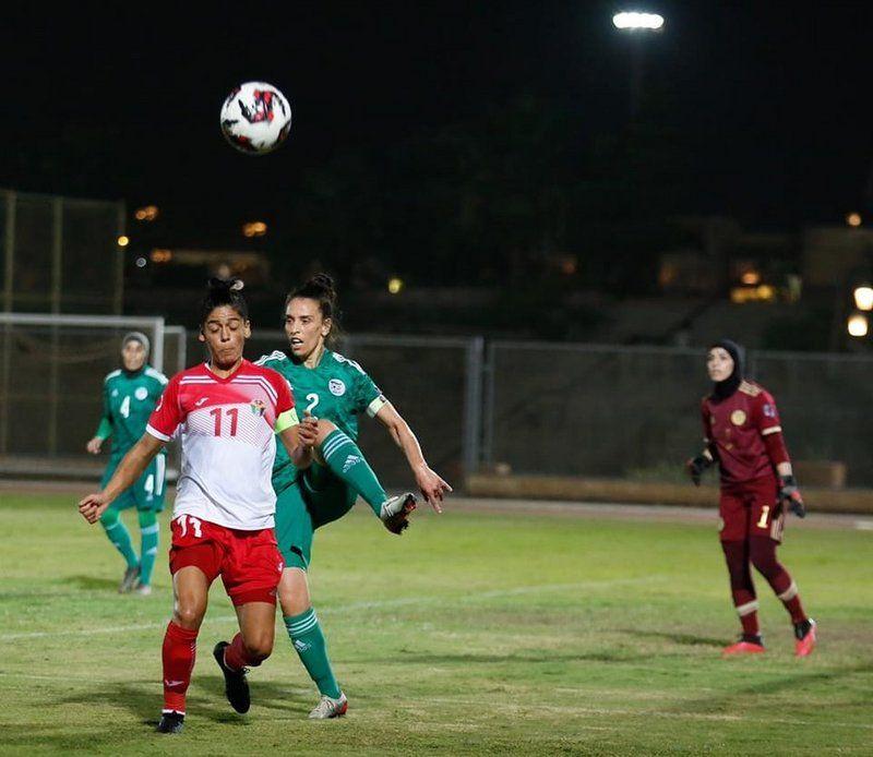 الجزائر يستهلّ مشواره بفوز على المنتخب الأردني.. في كأس العرب للسيدات