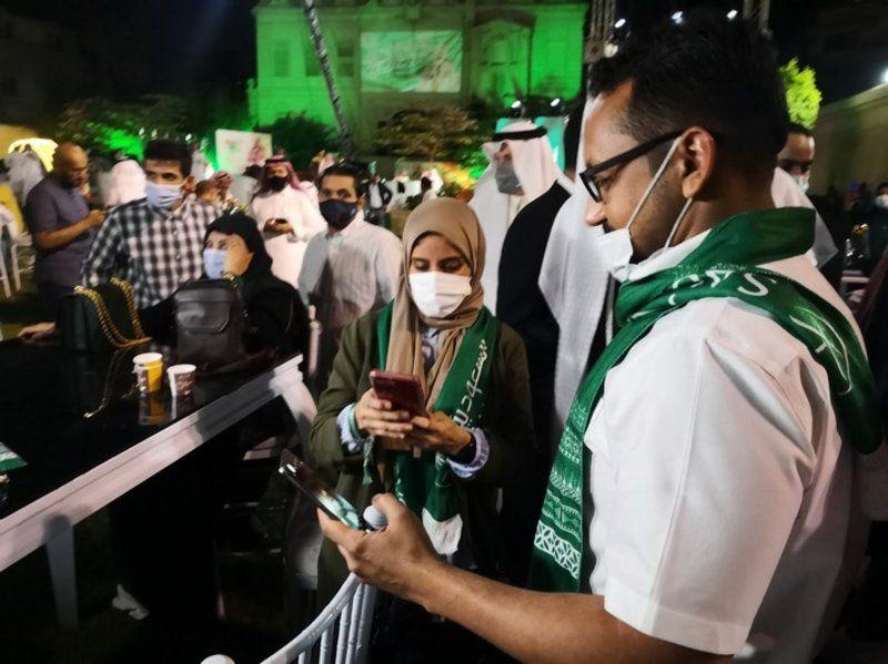 السفارة السعودية بالقاهرة تحتفل باليوم الوطني 91 بمشاركة المواطنين.. و