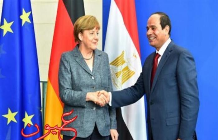 ميركل تزور مصر 2 مارس على رأس وفد اقتصادي رفيع المستوى