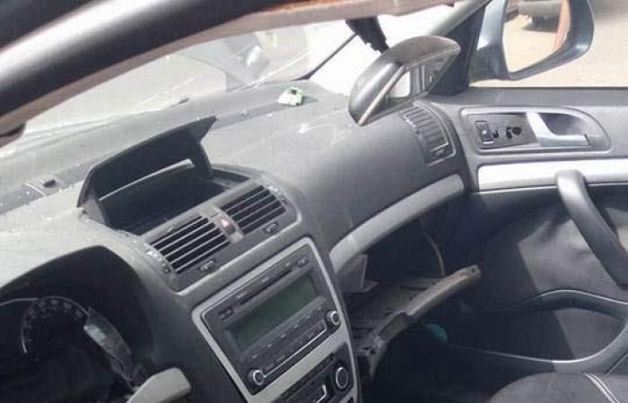 بالصور.. مصرع صيدلي في حادث تصادم سيارتين بمدينة نصر
