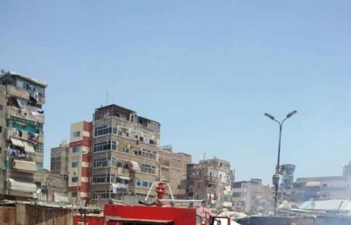 انفجار أنبوبة غاز داخل محل دواجن في بورسعيد