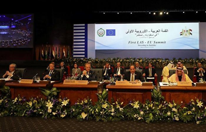 رد فعل القادة العرب عندما أعلن زعيم أوروبي زواجه من رجل في قمة شرم الشيخ