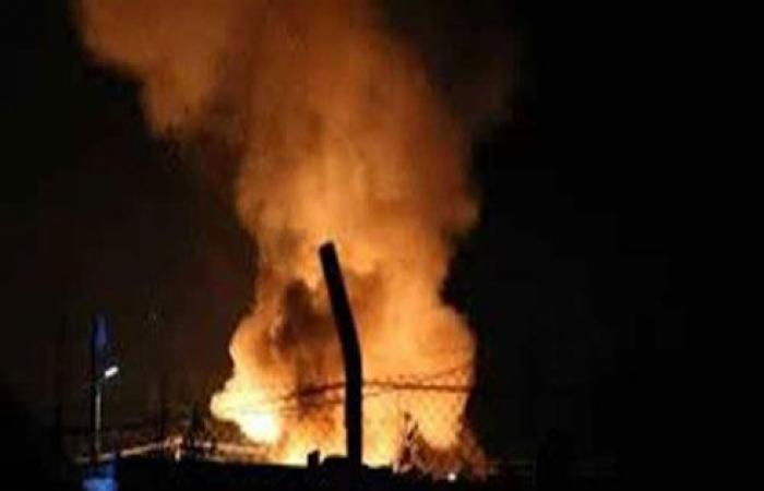 بالفيديو : جرحى بحريق في مخيم الهول شمالي سوريا