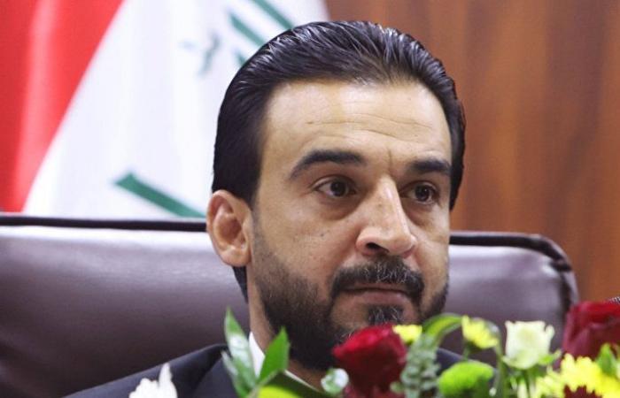 رئيس مجلس النواب العراقي يلتقي نظيره السوري (صور)