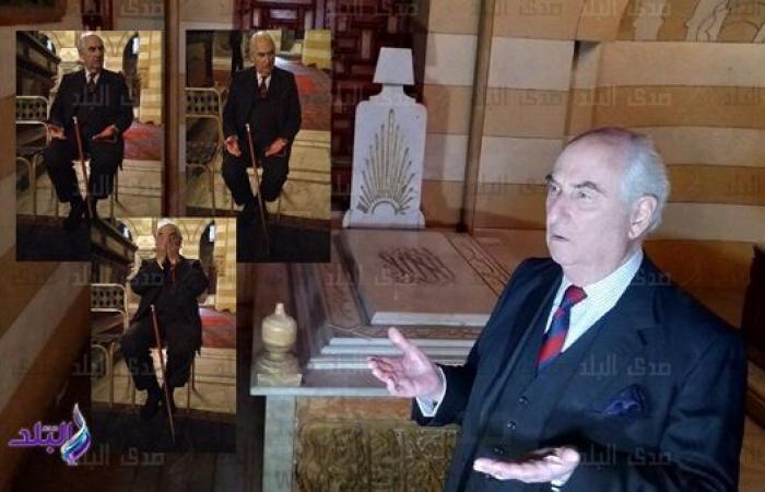 البرنس عباس حلمي الثالث يدعو بالرحمة والمغفرة لأفراد الأسرة العلوية.. فيديو وصور
