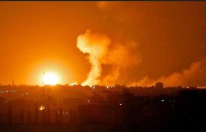 مروحيات جيش الاحتلال الإسرائيلى تقصف هدفين فى قطاع غزة