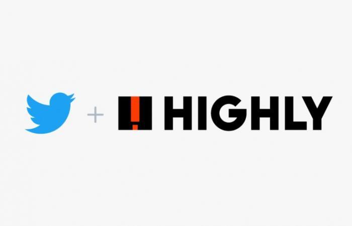 تويتر تستحوذ على تطبيق مشاركة النصوص المميزة Highly