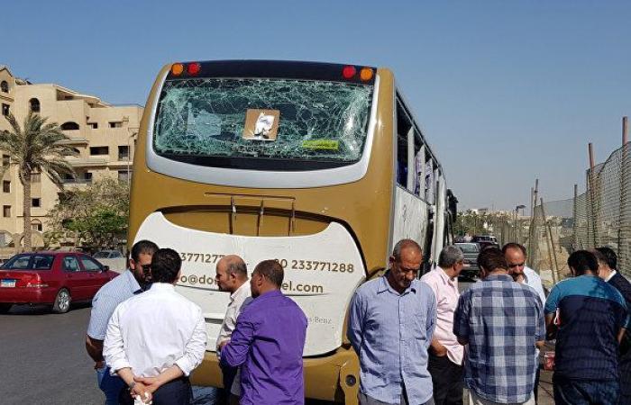 السفارة: لا يوجد مواطنين روس ضمن مصابين الحافلة السياحية في القاهرة