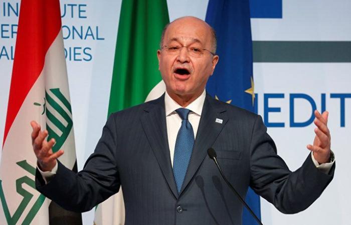 """الرئيس العراقي يتوعد """"عناصر تخطط للاستفزاز"""""""