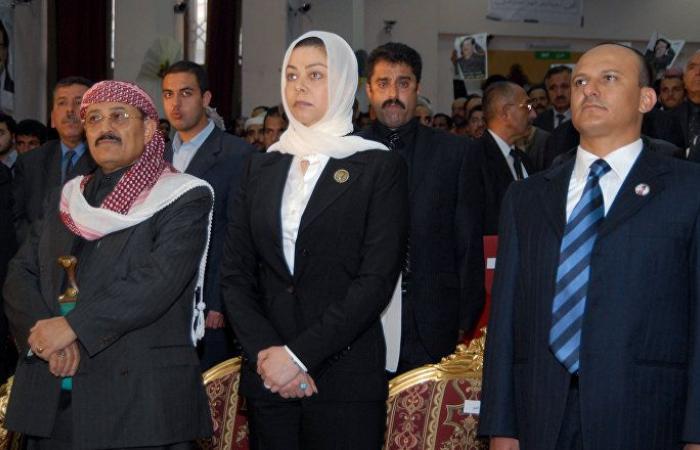 رغد صدام حسين تكشف حقيقة وفاة والدتها