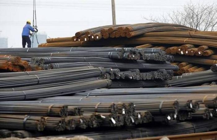 مسح..متوسط سعر طن الحديد بالسعودية يرتفع 12% منذ بداية 2019