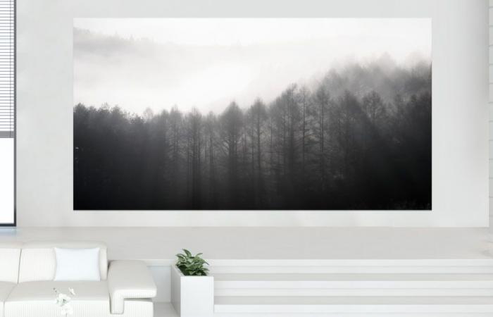 سامسونج تعلن عن تلفاز The Wall Luxury بدقة 8K