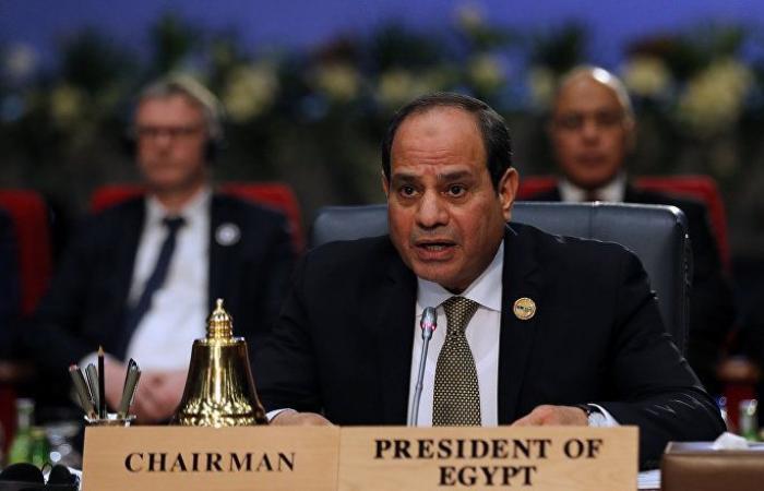 السيسي لوزير خارجية الإمارات: الخليج جزء من أمننا القومي