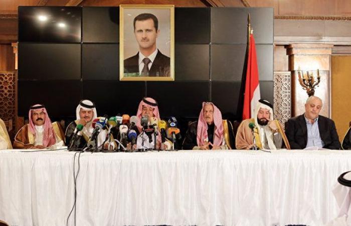 القبائل والعشائر: لإعادة سلطة الدولة السورية للمحافظات الشرقية وضمان المساواة بالحقوق والفرص