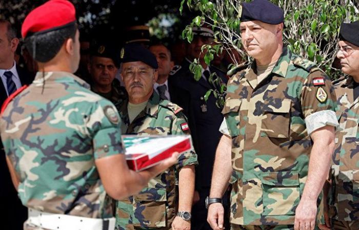 لأول مرة... قائد الجيش اللبناني في السعودية