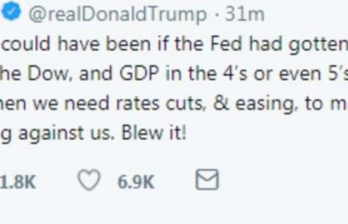 ترامب: الفيدرالي لا يعرف ما الذي يفعله
