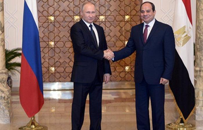 استعادة الحركة الجوية بين روسيا ومصر على جدول أعمال لقاء بوتين والسيسي