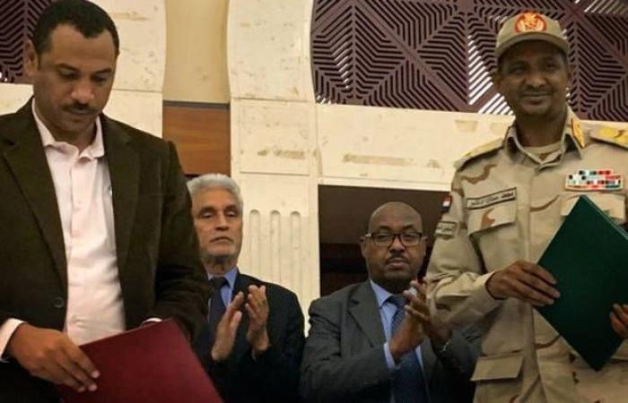 تفاصيل أول اتفاق سياسي للسودان منذ عزل البشير