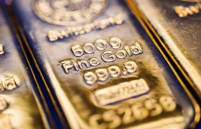 محدث..الذهب يربح 12 دولاراً عند التسوية ليسجل أعلى مستوى بـ6سنوات