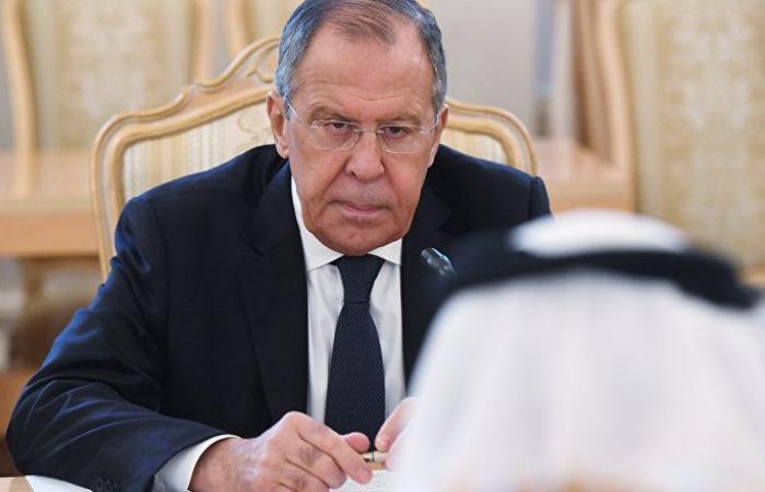 """وزير الخارجية الروسي: أي """"خطوة خاطئة"""" في الخليج محفوفة بعواقب مدمرة"""