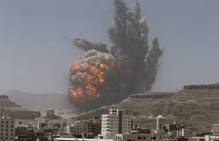 9 غارات جوية على صنعاء والتحالف يعلن استهداف دفاع جوي ومخزن صواريخ بالستية