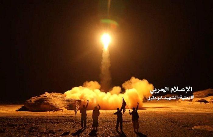 """""""أنصار الله"""" تعلن إطلاق 4 صواريخ على تجمعات للجيش السعودي في عسير"""