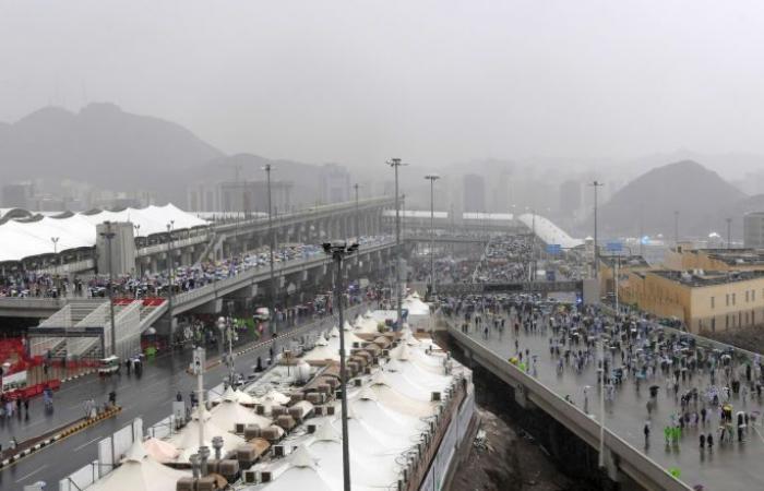 مسؤول مصري يكشف حالة الحجاج بعد أمطار وسيول السعودية