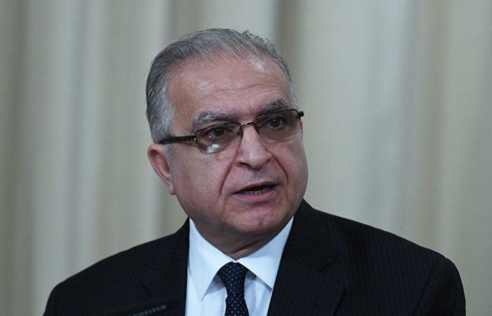وزير الخارجية العراقي يناقش مع نظيره الفلسطيني التطورات في المنطقة
