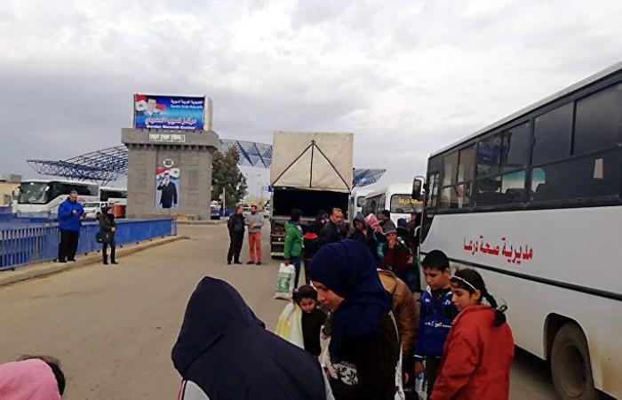 عودة أكثر من 950 سوريا لبلادهم من الأردن ولبنان